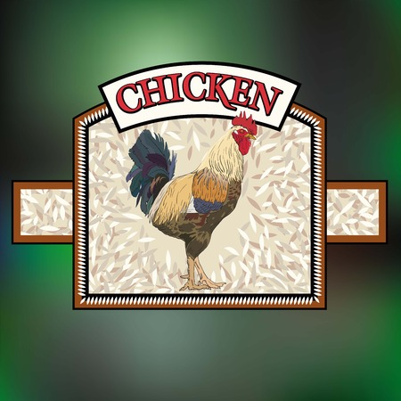 aviculture: sticker products processing of poultry meat products