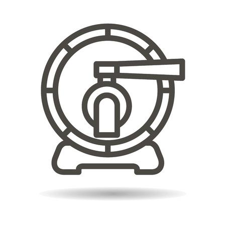 barrel: Wooden barrel icon.