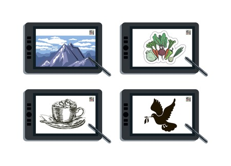capabilities: graphic tablet and its capabilities.