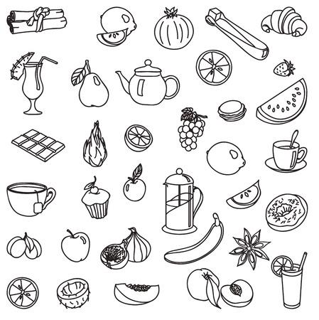 foodstuffs: foodstuffs icon Illustration