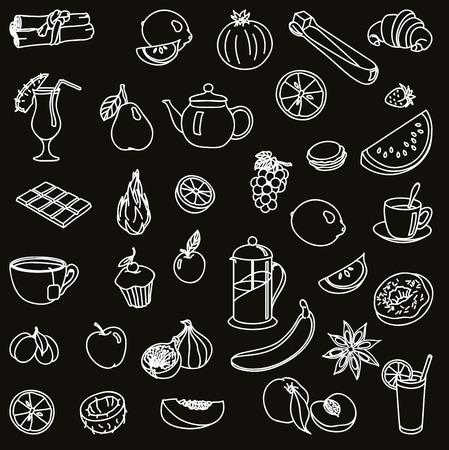 aliments: denrées alimentaires icône