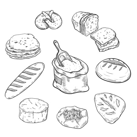 buns: fresh bread and bakery products