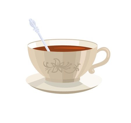 objects drink: cup of tea