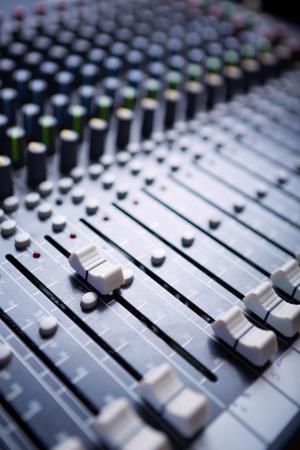 Sound mixer Bedienfeld Standard-Bild - 15951941