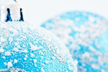 Blue christmas ball Stock Photo - 16134838