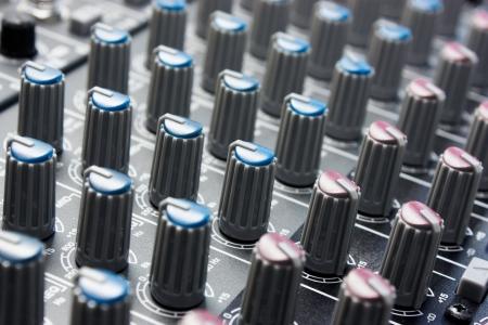 Audiomixer control panel Stock Photo - 16062602