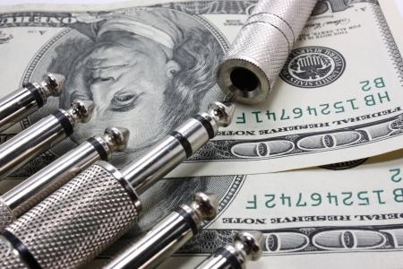 audio jacks and money