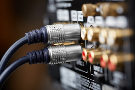 Connected hi-end audio cable