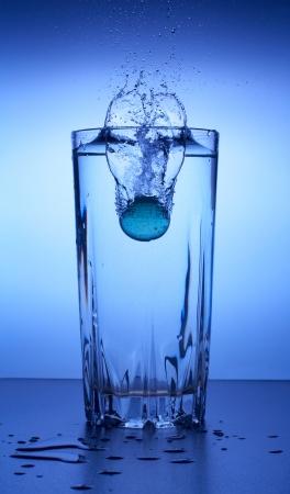 purified: Water splash