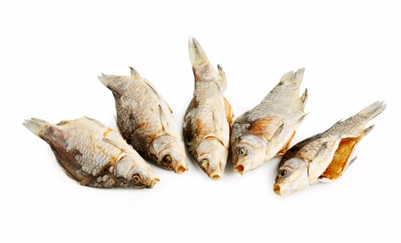 bluefish: Dry Fish put in a Heap