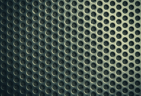 aluminium texture: Black speaker lattice background, close-up