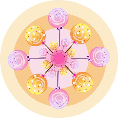 hard love: Lollipops wheel