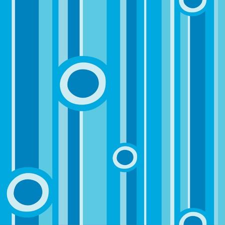 girotondo bambini: Cerchi blu e strisce pattern file illustrazione vettoriale  Vettoriali