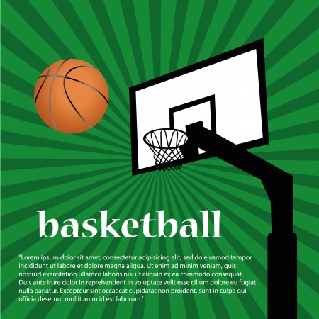 basketball net: a basketballs net and ball with some text