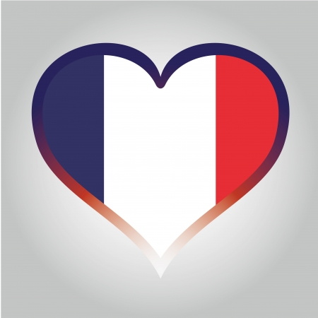 french flag: the french flag with its respective colors