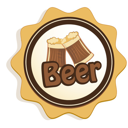 beers: a couple of beers in an icon with some text