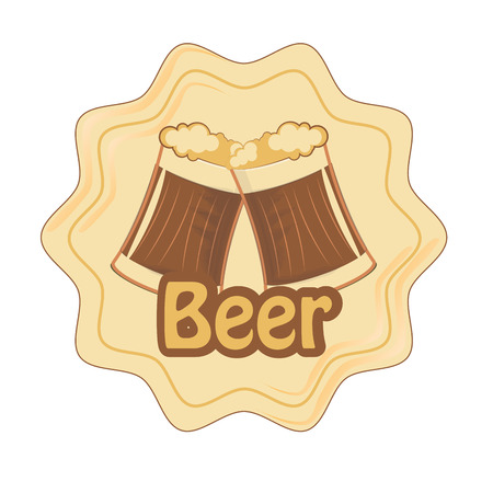 beers: a couple of beers with in an icon with some text