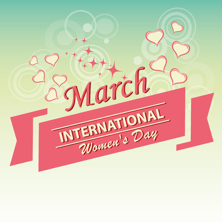 a beautiful and colorful background for womens day