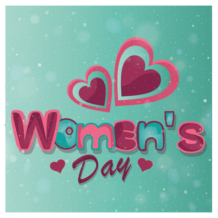 a beautiful and colorful background for women's day Фото со стока - 26482133