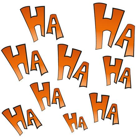 Certaines expressions comiques colorés dans un fond blanc Banque d'images - 29461994