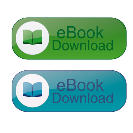 a pair of banners with text and ebooks Vector