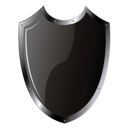 heraldry: Isolated heraldry shield on a white background. Vector illustration Illustration