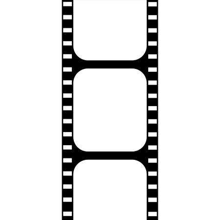 film industry: Isolated cinema icon on a white background. Vector illustration