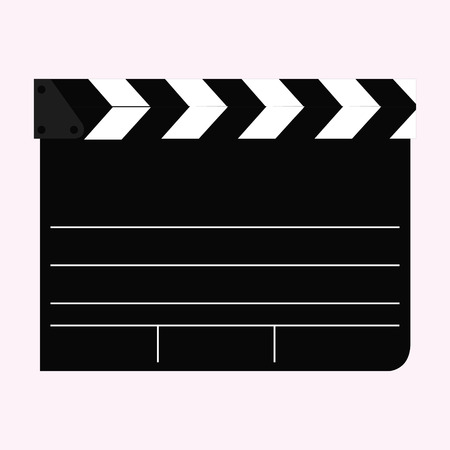 Isolated cinema icon on a white background. Vector illustration