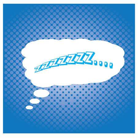 onomatopoeia: Blue textured background with an isolated comic expression