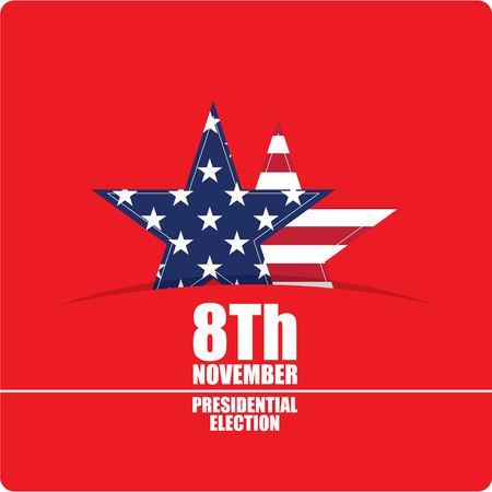 United states of America Election day, Vector illustration