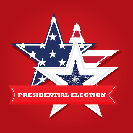 election: United states of America Election day, Vector illustration