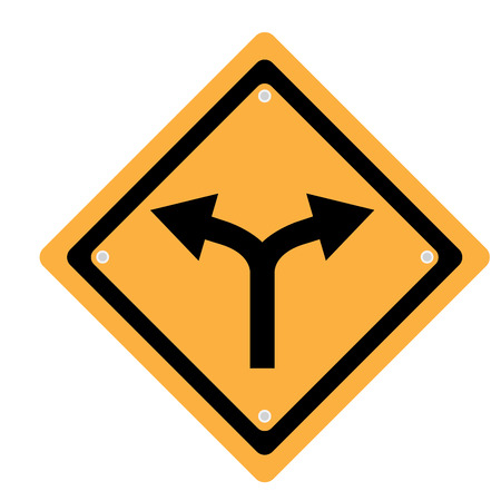 transit: Isolated transit signal on a white background, Vector illustration