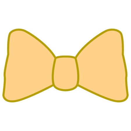 Isolated bowtie icon on a white background, Vector illustration