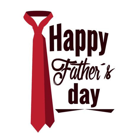Happy fathers day graphic design, Vectro illustration Illustration