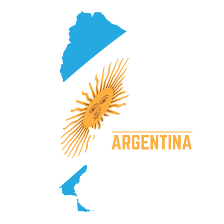 Argentina Map Vector Cliparts Stock Vector And Royalty Free - Argentina map vector free