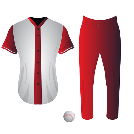 Baseball Jersey Vector Templates Various Uniform Styles Royalty Free ...