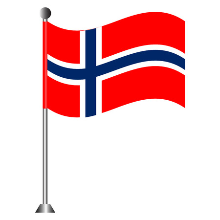 Flag of Norway Illustration