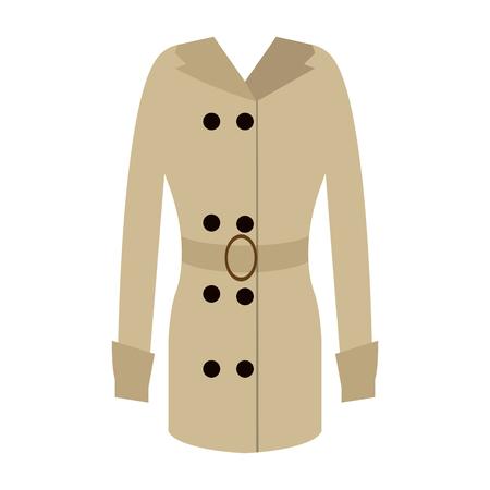 Isolated winter jacket