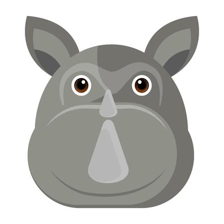 Avatar of a rhino Stock fotó - 90908715