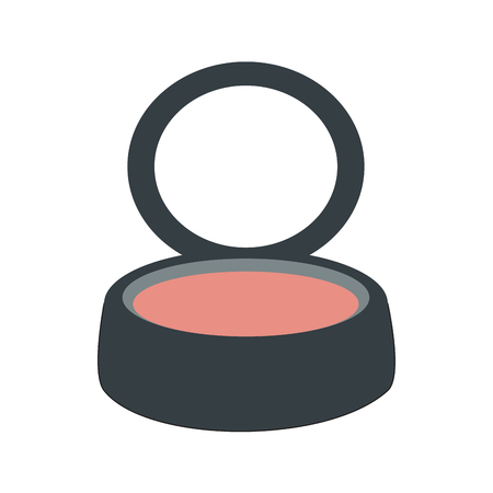 Isolated blush makeup Ilustração