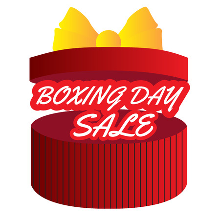 Boxing day graphic design