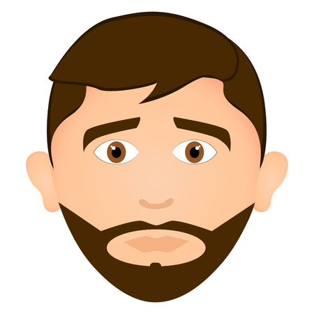 Serious man avatar