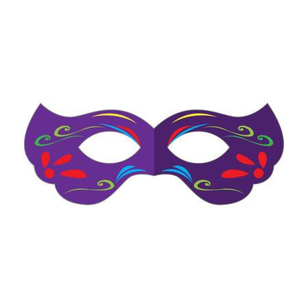 Mardi gras mask Illustration