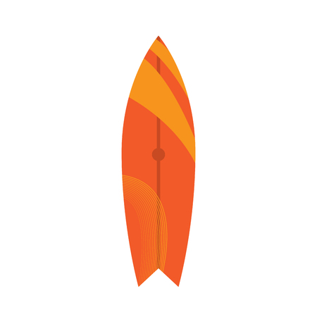 Isolated surfboard image Imagens - 94263921