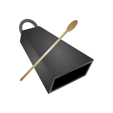 88 cowbell cliparts stock vector and royalty free cowbell illustrations rh 123rf com cowbell clipart free cowbell clip art free