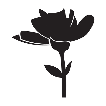 Isolated cute flower icon. Vector illustration design