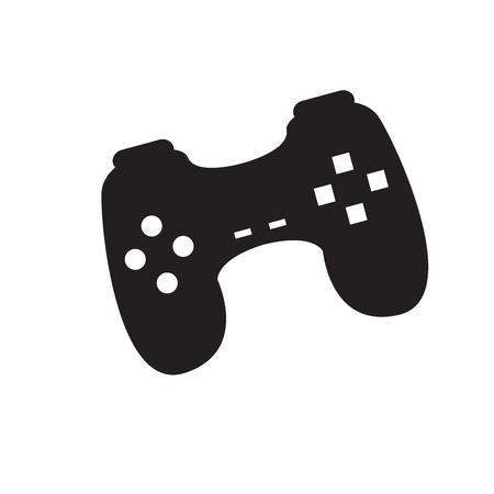 Isolated joystick toy icon on white background 向量圖像