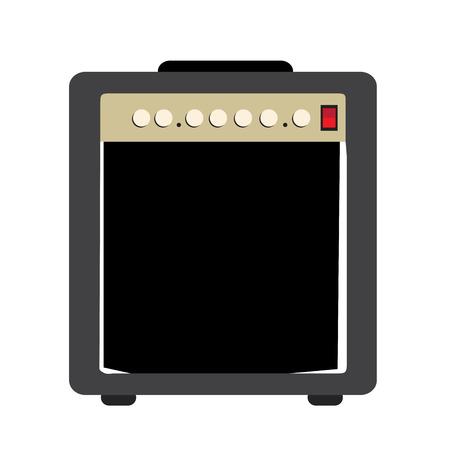Isolated speaker icon 向量圖像