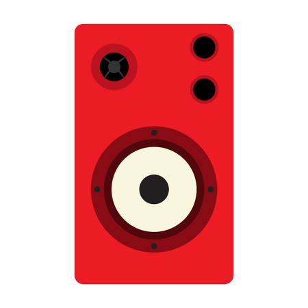 Isolated speaker icon 向量圖像