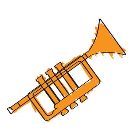 Trumpet icon. 向量圖像